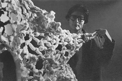 Mira Schendel and Little Nothing_London 1966_Clay Perry