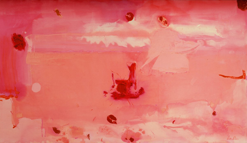 Around the Clock with Red_Helen Frankenthaler
