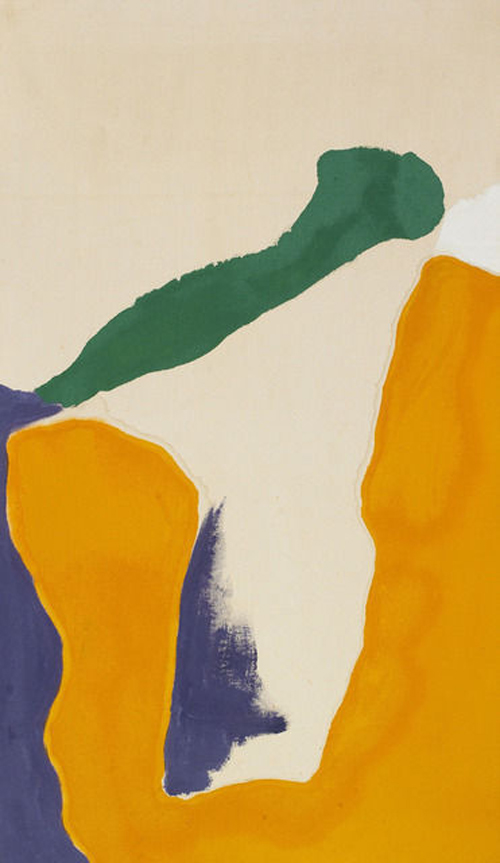 Good Luck Orange_1969_Helen Frankenthaler