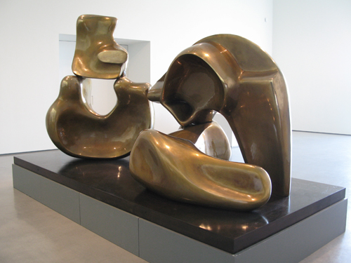 Large Four Piece Reclining Figure_Henry Moore