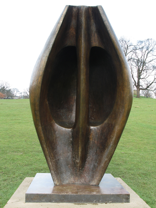 Large Totem Head_Henry Moore