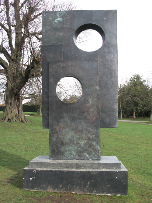 Squares with Two Circles_Barbara Hepworth