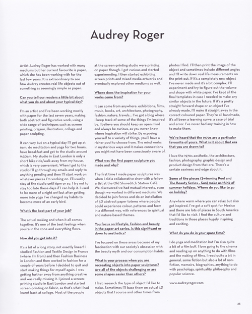 Betty mag summer 2014_Audrey Roger feature_text