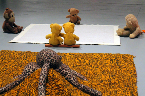 Arena #7 Bears & Arena #8 Leopard_Mike Kelley