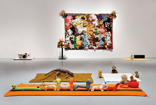 Stuffed Animal works_Mike Kelley_Brian Forrest for MOCA
