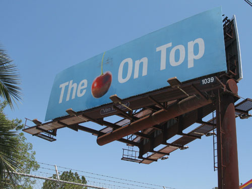 The Cherry on Top billboard_Audrey Roger
